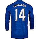 adidas Jesse Lingard Manchester United L/S Away Jersey 2016-17