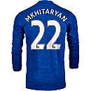 adidas Henrikh Mkhitaryan Manchester United L/S Away Jersey 2016-17