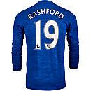 adidas Marcus Rashford Manchester United L/S Away Jersey 2016-17