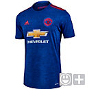 adidas Kids Manchester United Away Jersey 2016-17