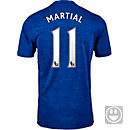 adidas Kids Anthony Martial Manchester United Away Jersey 2016-17