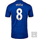 adidas Kids Juan Mata Manchester United Away Jersey 2016-17