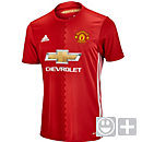 adidas Kids Manchester United Home Jersey 2016-17