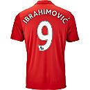 adidas Zlatan Ibrahimovic Manchester United Home Jersey 2016-17