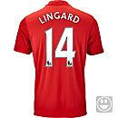 adidas Kids Jesse Lingard Manchester United Home Jersey 2016-17
