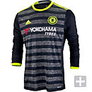 adidas Chelsea L/S Away Jersey 2016-17