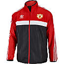 adidas Manchester United Windbreaker - Black & Red