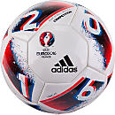 adidas Euro 16 Competition Soccer Ball - White & Bright Blue