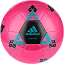 adidas Starlancer V Soccer Ball - Shock Pink & Black