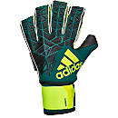 adidas ACE Trans Ultimate Goalkeeper Gloves - Tech Green & Black