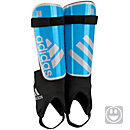 adidas Kids Ghost Shinguard - Solar Blue & Silver Metallic