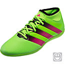 adidas Kids ACE 16.3 Primemesh IN - Solar Green & Shock Pink