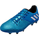 adidas Messi 16.2 FG Soccer Cleats - Shock Blue & Matte Silver
