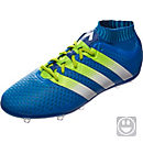 adidas Kids ACE 16+ Primeknit FG Soccer Shoes - Shock Blue & Solar Yellow
