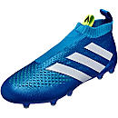 adidas ACE 16+ Purecontrol FG Soccer Cleats - Shock Blue & Solar Yellow