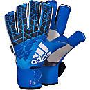adidas ACE Trans Fingersave Pro Goalkeeper Gloves - Blue & Shock Pink