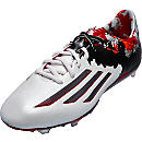adidas Messi 10.1 FG Soccer Cleats - White and Granite