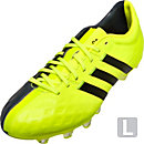 adidas 11Pro FG Soccer Cleats - Flash Yellow and Grey