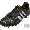 adidas Kids ACE 15.3 FG/AG Soccer Cleats - Black and Silver