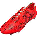 adidas F50 adiZero FG Soccer Cleats - Solar Red and White