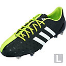 adidas 11Pro SL FG Soccer Cleats - Black and White