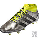 adidas Kids ACE 16.1 Primeknit FG - Silver Metallic & Core Black