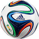 adidas Brazuca Top Glider Soccer Ball  White with Night Blue