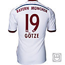adidas Kids Gotze Bayern Munich Away Jersey 2014-15