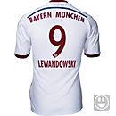 adidas Kids Lewandowski Bayern Munich Away Jersey 2014-15