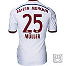 adidas Kids Muller Bayern Munich Away Jersey 2014-15