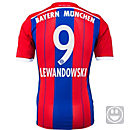 adidas Kids Lewandowski Bayern Munich Home Jersey 2014-15