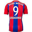 adidas Lewandowski Bayern Munich Home Jersey 2014-15