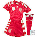 adidas Spain Home MiniKit  World Cup 2014