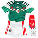 adidas Mexico Home Minikit  World Cup 2014