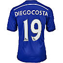 adidas Diego Costa Chelsea Home Jersey 2014-15