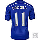 adidas Kids Drogba Chelsea Home Jersey 2014-15