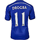adidas Drogba Chelsea Home Jersey 2014-15