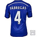 adidas Kids Fabregas Chelsea Home Jersey 2014-15