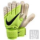 Nike Spyne Pro Goalkeeper Gloves - Volt and White
