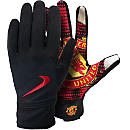 Nike Manchester United Field Player Gloves - Black