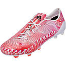 adidas Predator Instinct Crazylight FG Soccer Cleats - White and Solar Pink