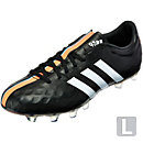 adidas 11Pro FG Soccer Cleats -  Black and White