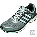 adidas Women's Supernova Glide 6 Boost Running Shoes - Grey and Mint