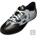 adidas Youth F5 FxG Soccer Cleats - Black and Silver