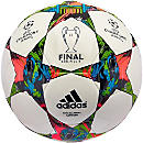 adidas Finale Berlin Capitano Soccer Ball - White and Blue