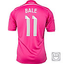 adidas Kids Bale Real Madrid Away Jersey 2014