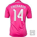 adidas Kids Chicharito Real Madrid Away Jersey 2014-15