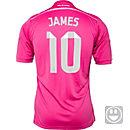 adidas Kids James Real Madrid Away Jersey 2014-15
