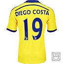 adidas Kids Diego Costa Chelsea Away Jersey 2014-15