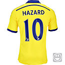 adidas Kids Hazard Chelsea Away Jersey 2014-15